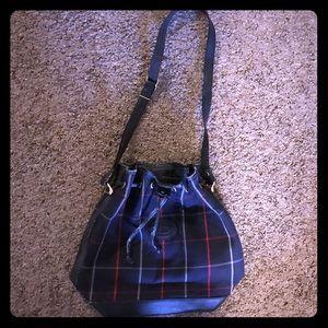 Vintage Burberry drawstring handbag